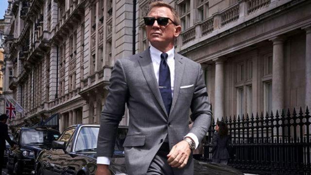 James Bond en pleine action