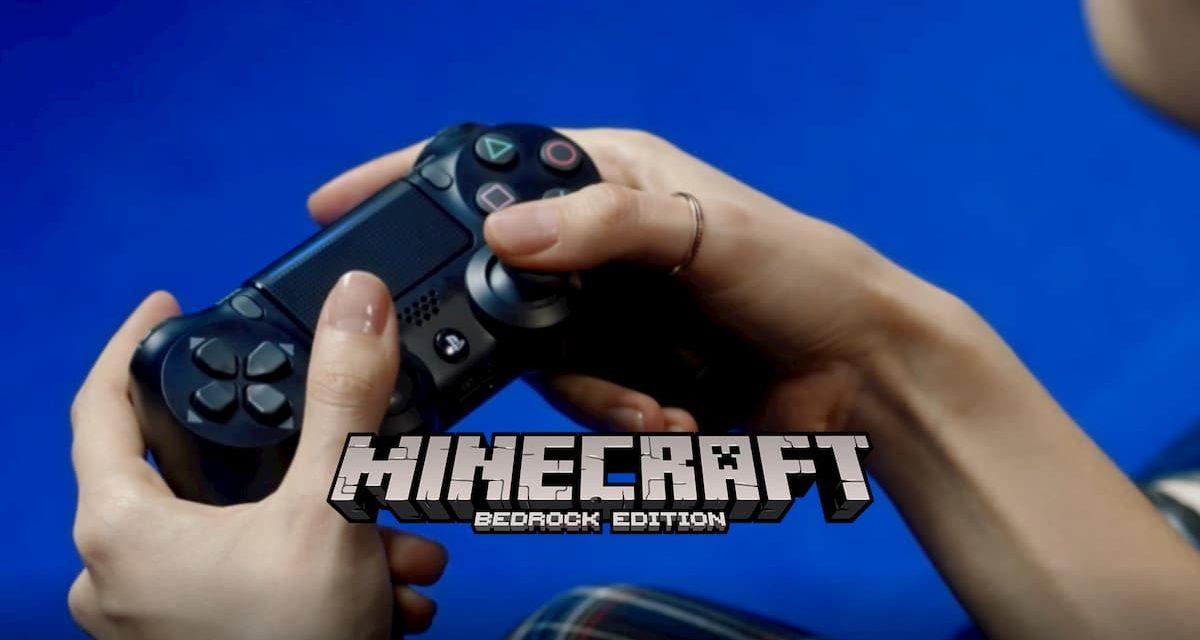 Le crossplay débarque pour la version PlayStation 4 de Minecraft