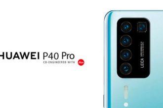 Le module photo arrière du Huawei P40 Pro