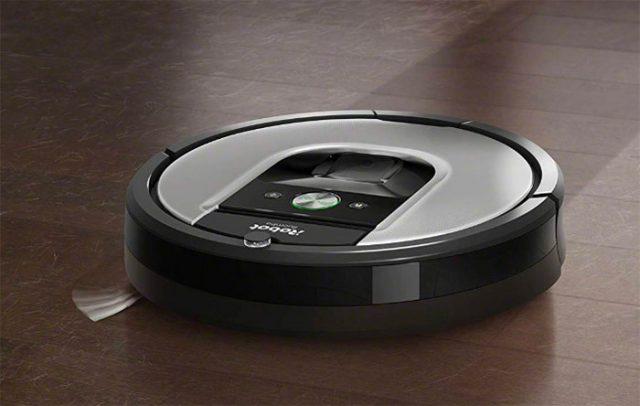 Le Roomba 960 d'iRobot