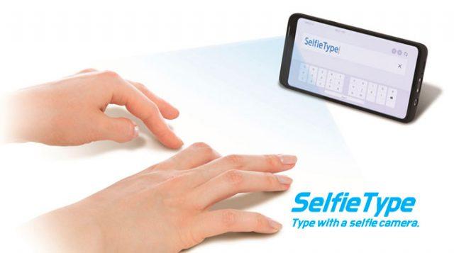 SelfieType, une fonction qui nous permettra de nous affranchir des traditionnels claviers virtuels