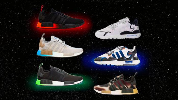 Adidas a lancé des sneakers inspirées de Star Wars