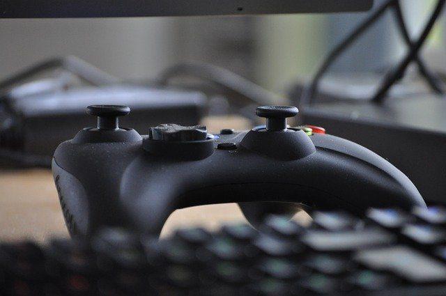 Un contrôleur de Xbox