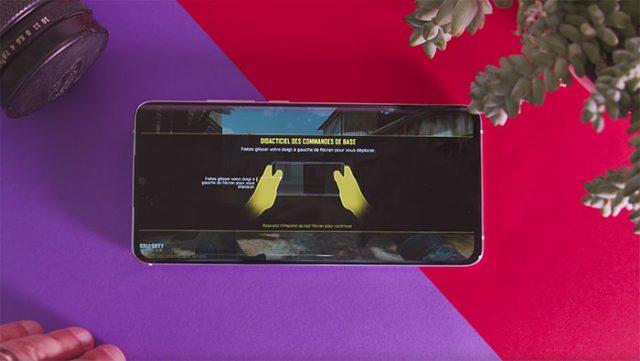 Le Xiaomi Mi Note 10 peut faire tourner de gros jeux, mais pas avec les détails à fond