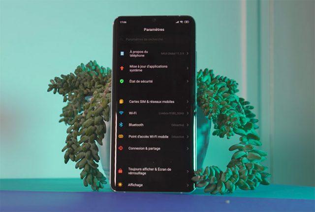 Le mode nuit du Xiaomi Mi Note 10
