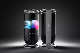 La Mirage Smart Speaker de Royole