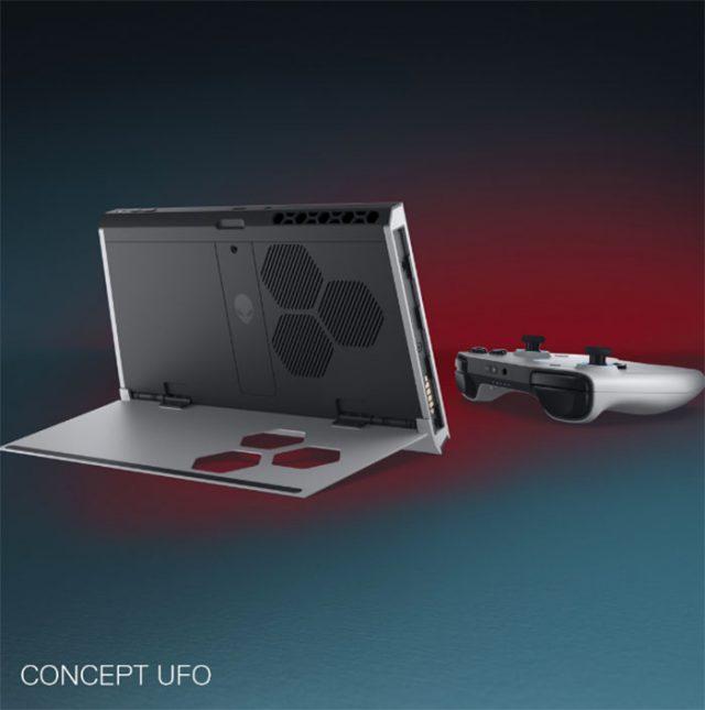 Le Concept UFO est tout de même un peu plus massif qu'une Switch