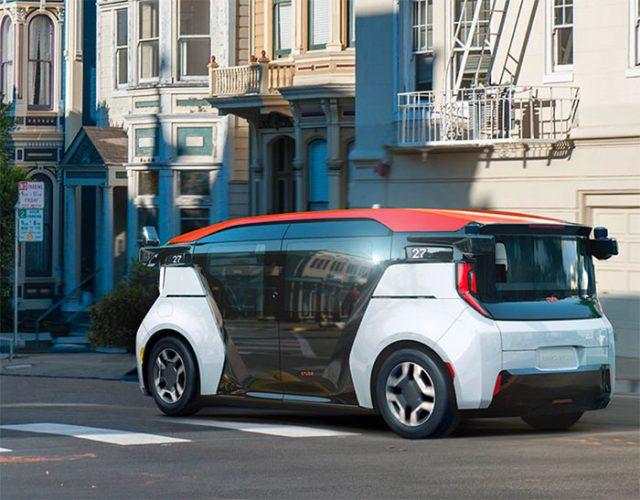 Le Cruise Origin, un taxi autonome sans pédale ni volant