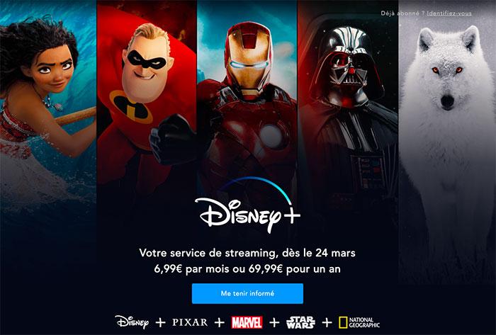 Disney+ s'est trouvé une date en France