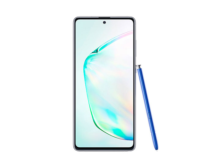 Le Galaxy Note 10 Lite dans toute sa splendeur