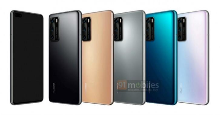 Le Huawei P40 Pro se dévoile encore un peu plus avec de nouveaux rendus