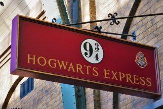 La voie pour le Hogward Express