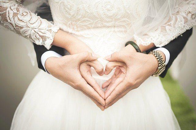 Une très belle photo de mariage