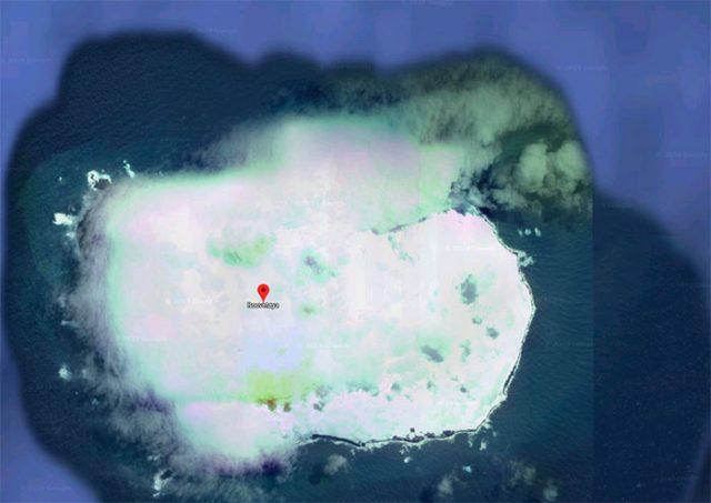 Cette île a une drôle d'allure, vous ne trouvez pas ?