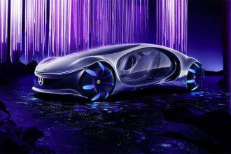 La Mercedes-Benz Vision AVTR, un concept car pas comme les autres