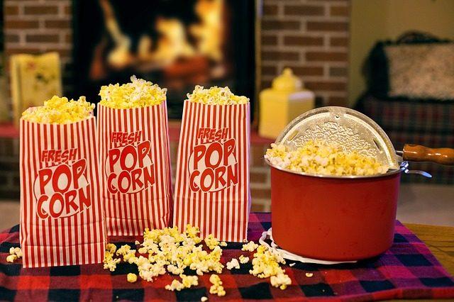 Quoi de mieux qu'un pot de popcorn devant un bon film ou une bonne série ?