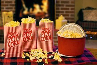 Quoi de mieux qu'un bol de popcorn devant un bon film ou une bonne série ?
