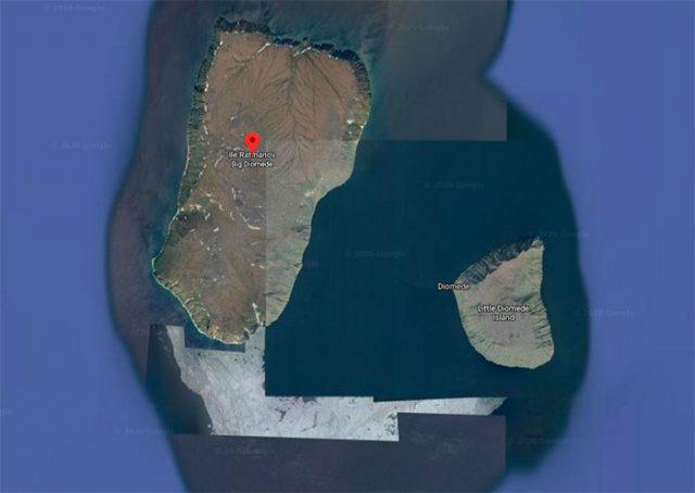 L'île Ratmanov a une drôle d'allure, n'est ce pas ?