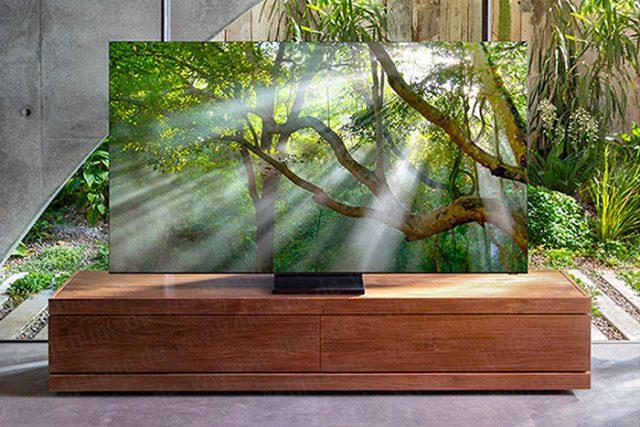 Le Q950T de Samsung, un téléviseur aux bords presque invisibles