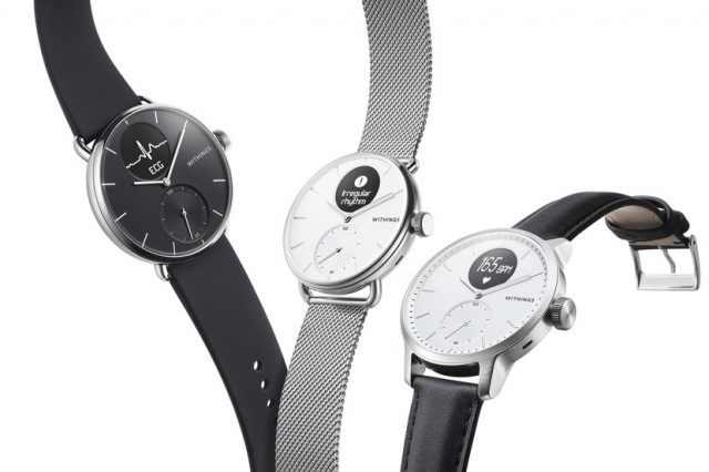 La ScanWatch de Withings