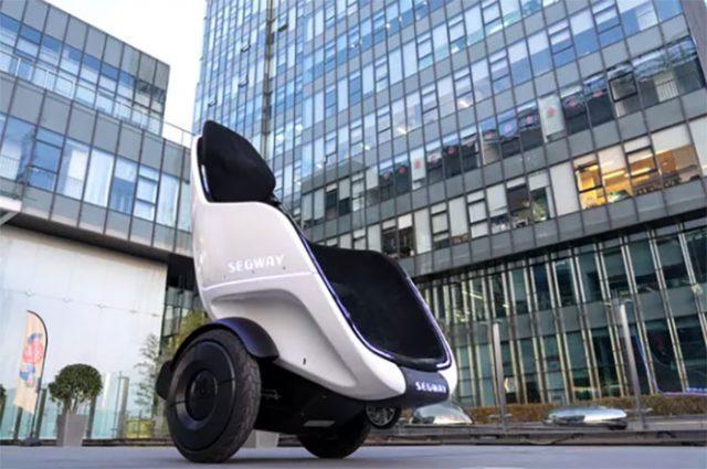 Le Segway S-Pod, un nouveau moyen de transport très alternatif