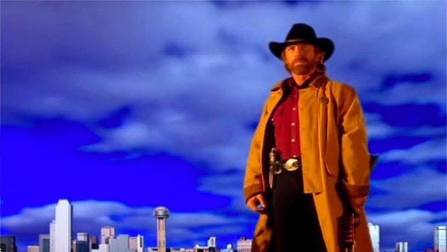 L'affiche de Walker Texas Ranger