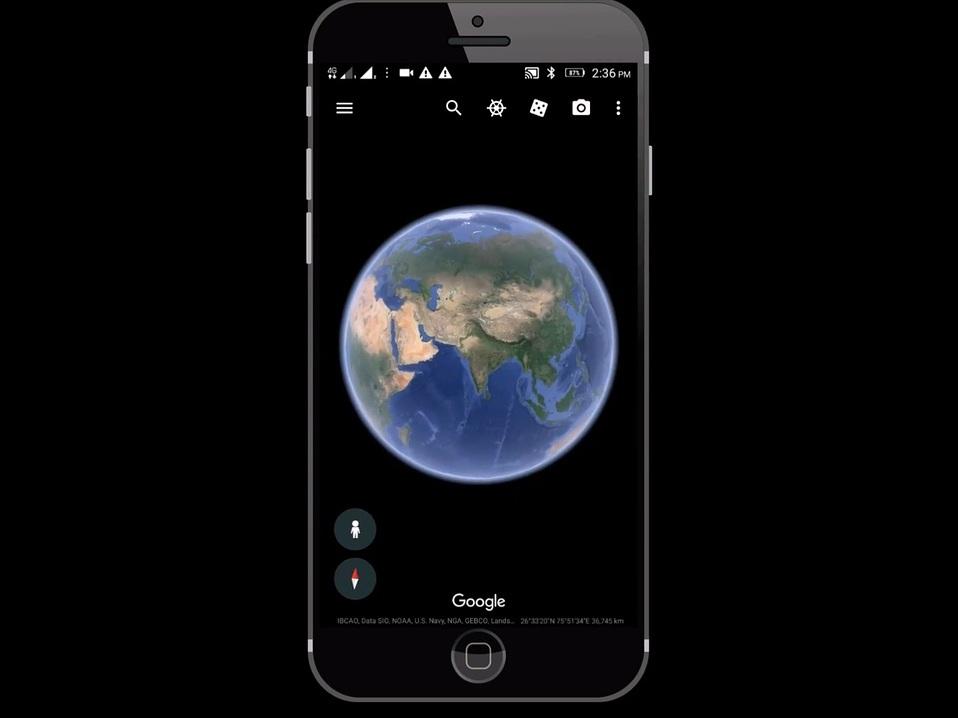 Google Earth vous emmène en promenade pendant votre confinement