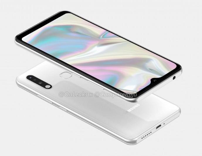 Le Galaxy A70e commence à se dévoiler
