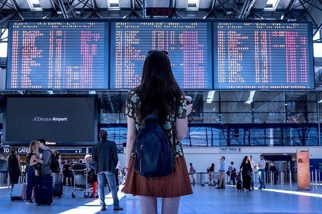 La photo d'un aéroport