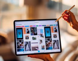 L'Apple Pencil en pleine action