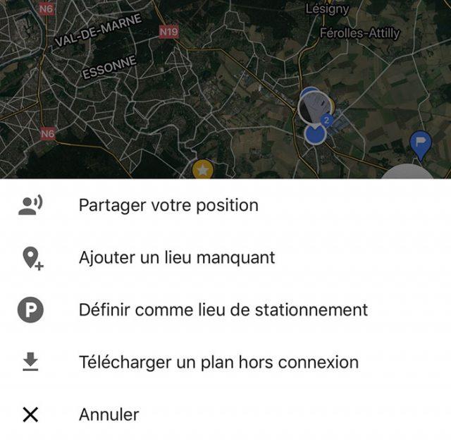 Savez vous qu'il est très facile de partager sa position sur Google Maps ?