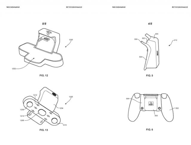 Brevet Sony DualShock 5