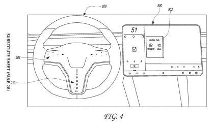 Tesla a imaginé un nouveau genre de volant