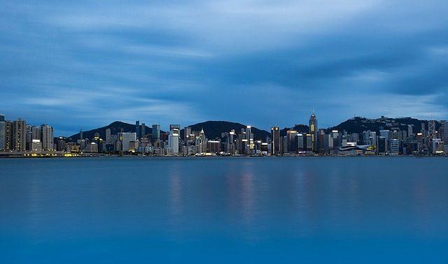 Une vue de Hong Kong
