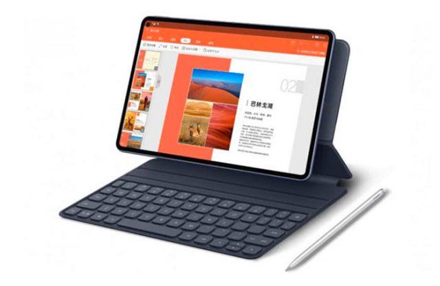 Le MatePad Pro 5G et ses principaux accessoires