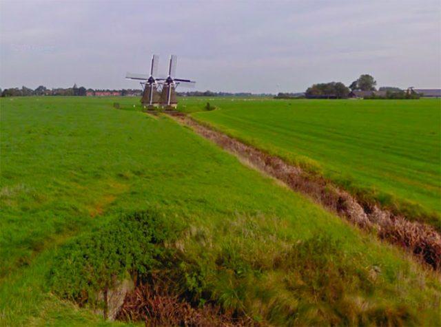 Il arrive parfois de voir double lorsqu'on se promène aux Pays-Bas