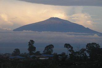 Le Mont Cameroun, en Afrique