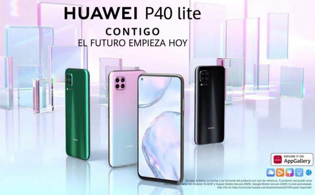 Le Huawei P40 Lite se dévoile avant l'heure