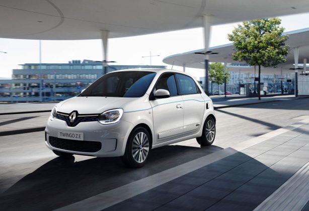 La Renault Twingo ZE sur la route