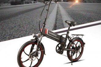 Le Samebike 20LVXD30, en couleur noire