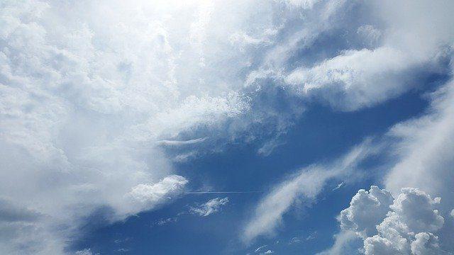 Un ciel bleu
