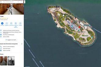 Il se passe de drôles de choses dans les WC d'Alcatraz