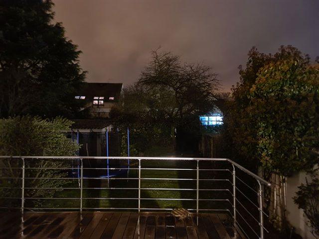 Photo de nuit prise avec le Galaxy S20 Ultra 6