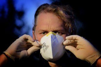 Un masque pour se protéger des virus