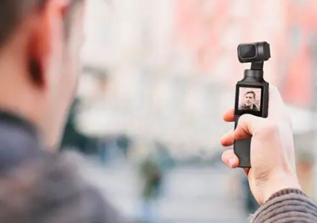 La FIMI Palm 4K, une caméra de poche