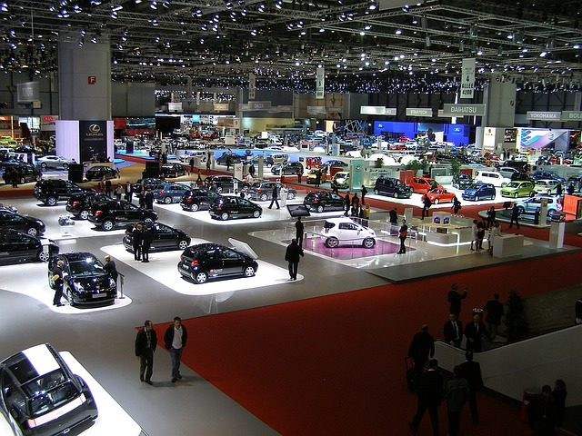 Le salon de l'automobile de Genève