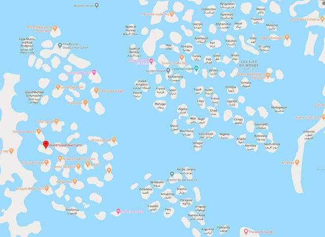 Si ce n'est pas du Google Maps Bombing...