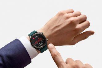 La Huawei Watch GT en pleine action