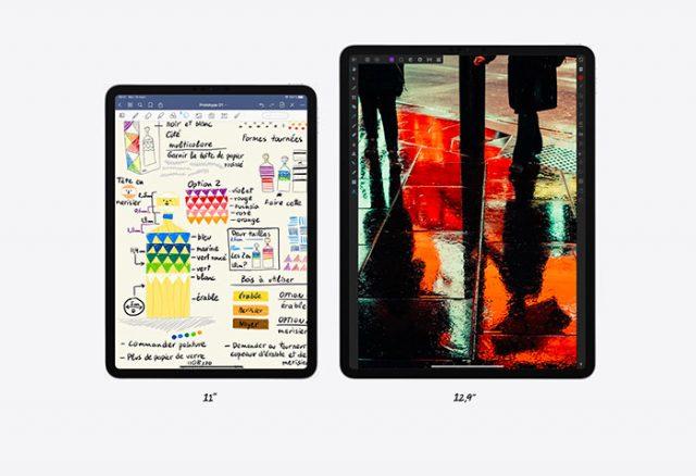 L'iPad Pro se décline toujours en deux tailles
