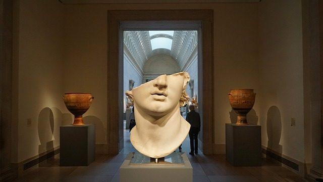 Une sculpture d'Alexandre le Grand